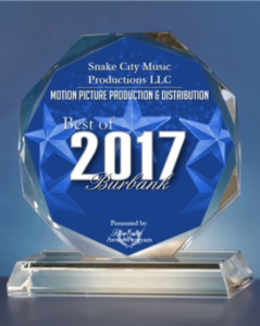 SCM – Best Award in the Motion Picture Production & Distribution category